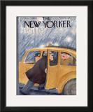 The New Yorker Cover - April 21, 1945 Framed Giclee Print by William Cotton