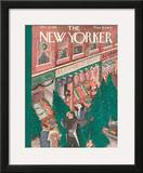 The New Yorker Cover - December 21, 1935 Framed Giclee Print by Ilonka Karasz