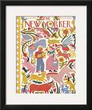 The New Yorker Cover - August 19, 1944 Framed Giclee Print by Ilonka Karasz