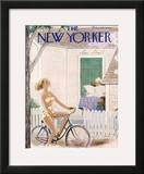 The New Yorker Cover - August 6, 1955 Framed Giclee Print by Rea Irvin