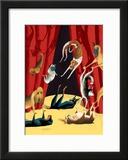The New Yorker Cover - June 10, 2002 Framed Giclee Print by Mark Ulriksen