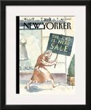 The New Yorker Cover - January 5, 2009 Framed Giclee Print by Barry Blitt