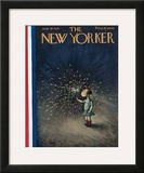 The New Yorker Cover - June 30, 1934 Framed Giclee Print by William Steig