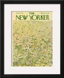 The New Yorker Cover - June 16, 1973 Framed Giclee Print by Ilonka Karasz