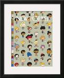 The New Yorker Cover - May 7, 2007 Framed Giclee Print by Ivan Brunetti