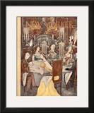 The New Yorker Cover - November 25, 1944 Framed Giclee Print by Mary Petty
