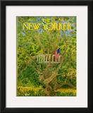 The New Yorker Cover - July 3, 1971 Framed Giclee Print by Ilonka Karasz