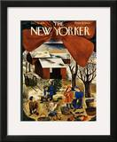 The New Yorker Cover - December 13, 1941 Framed Giclee Print by Ilonka Karasz