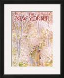 The New Yorker Cover - May 5, 1973 Framed Giclee Print by James Stevenson