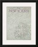 The New Yorker Cover - January 7, 1967 Framed Giclee Print by Laura Jean Allen