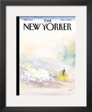 The New Yorker Cover - January 5, 2004 Framed Giclee Print by Jean-Jacques Sempé