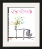 The New Yorker Cover - June 5, 1989 Framed Giclee Print by Ronald Searle