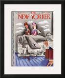The New Yorker Cover - August 31, 1935 Framed Giclee Print by Harry Brown