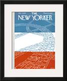 The New Yorker Cover - July 4, 1959 Framed Giclee Print by Anatol Kovarsky
