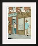The New Yorker Cover - June 9, 2008 Framed Giclee Print by Adrian Tomine