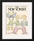 The New Yorker Cover - June 13, 1977 Framed Giclee Print by Edward Koren