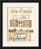 The New Yorker Cover - October 10, 1983 Framed Giclee Print by Douglas Florian