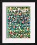 The New Yorker Cover - December 19, 1964 Framed Giclee Print by Anatol Kovarsky