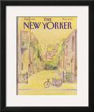 The New Yorker Cover - June 7, 1982 Framed Giclee Print by Eugène Mihaesco