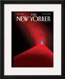 The New Yorker Cover - November 10, 2008 Framed Giclee Print by Brian Stauffer