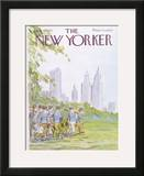 The New Yorker Cover - July 19, 1976 Framed Giclee Print by James Stevenson