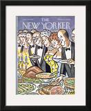 The New Yorker Cover - January 30, 1965 Framed Giclee Print by Peter Arno