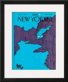 The New Yorker Cover - September 21, 1981 Framed Giclee Print by Arthur Getz