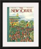 The New Yorker Cover - September 8, 1934 Framed Giclee Print by Ilonka Karasz