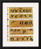 The New Yorker Cover - August 27, 1960 Framed Giclee Print by Anatol Kovarsky