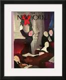 The New Yorker Cover - December 15, 1934 Framed Giclee Print by William Cotton