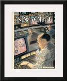 The New Yorker Cover - March 26, 2001 Framed Giclee Print by Edward Sorel
