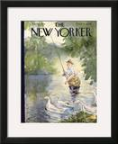 The New Yorker Cover - July 25, 1942 Framed Giclee Print by Perry Barlow