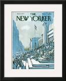 The New Yorker Cover - June 27, 1977 Framed Giclee Print by Arthur Getz