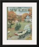 The New Yorker Cover - October 11, 1958 Framed Giclee Print by Arthur Getz