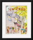 The New Yorker Cover - August 6, 1973 Framed Giclee Print by Charles Saxon
