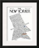 The New Yorker Cover - July 5, 1976 Framed Giclee Print by Lou Myers