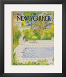 The New Yorker Cover - April 21, 1986 Framed Giclee Print by Jean-Jacques Sempé