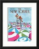 The New Yorker Cover - September 2, 1972 Framed Giclee Print by Charles Saxon
