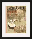 The New Yorker Cover - July 15, 1950 Framed Giclee Print by Mary Petty