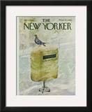 The New Yorker Cover - January 8, 1966 Framed Giclee Print by Laura Jean Allen