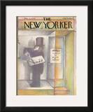 The New Yorker Cover - December 3, 1979 Framed Giclee Print by Andre Francois