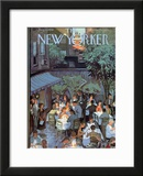 The New Yorker Cover - August 2, 1958 Framed Giclee Print by Arthur Getz