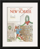 The New Yorker Cover - December 12, 1983 Framed Giclee Print by Arthur Getz