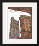 The New Yorker Cover - November 9, 1981 Framed Giclee Print by Roxie Munro