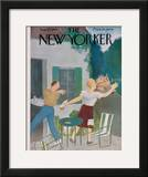 The New Yorker Cover - August 26, 1944 Framed Giclee Print by William Cotton
