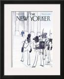 The New Yorker Cover - September 8, 1975 Framed Giclee Print by Charles Saxon