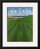 The New Yorker Cover - August 12, 1974 Framed Giclee Print by Albert Hubbell