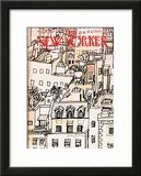 The New Yorker Cover - November 21, 1977 Framed Giclee Print by Andre Francois
