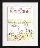 The New Yorker Cover - August 2, 1982 Framed Giclee Print by Anne Burgess