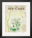 The New Yorker Cover - May 20, 1985 Framed Giclee Print by Jean-Jacques Sempé